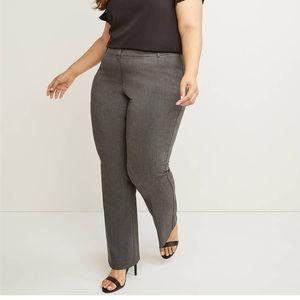 Lane Bryant curvy Allie bootcut pants 24R